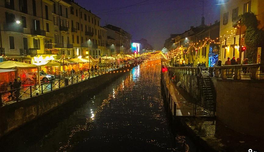Каналы Да Винчи, Милан