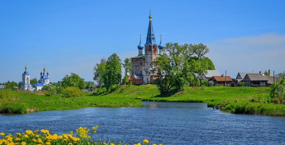 Благовещенский монастырь в Дунилово