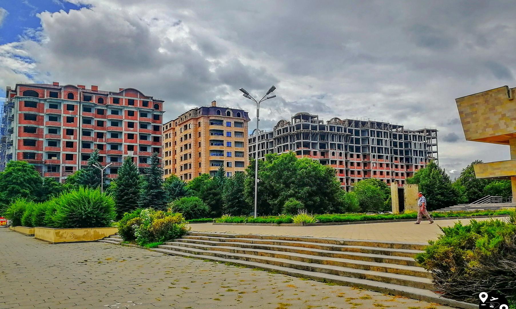 Центр города Черкесск