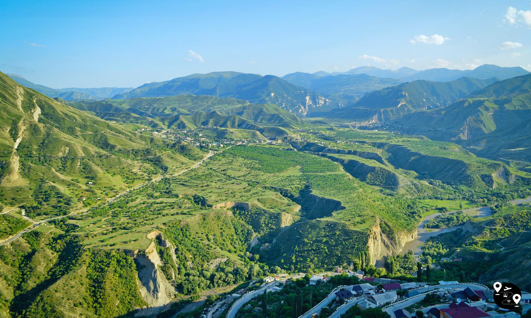 Пейзажи горного Дагестана