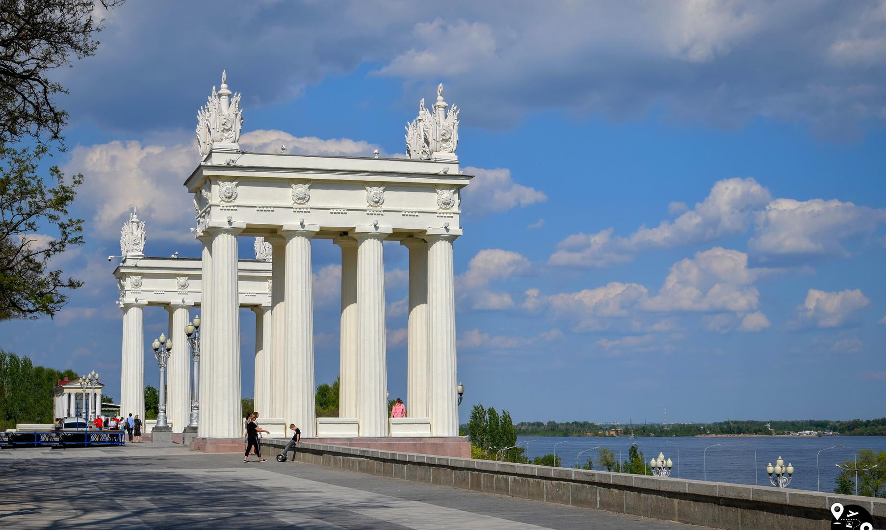 Центральная лестница, Волгоград