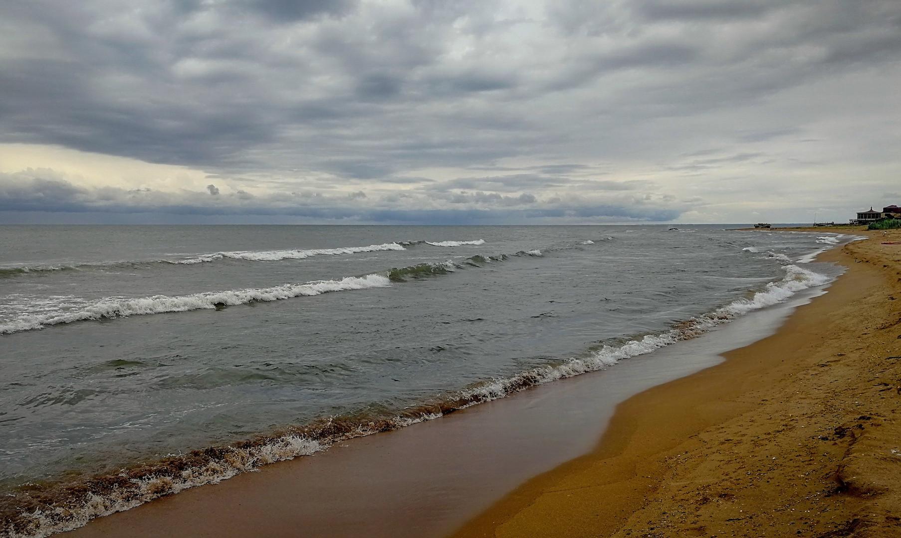 Пейзаж Каспийского моря