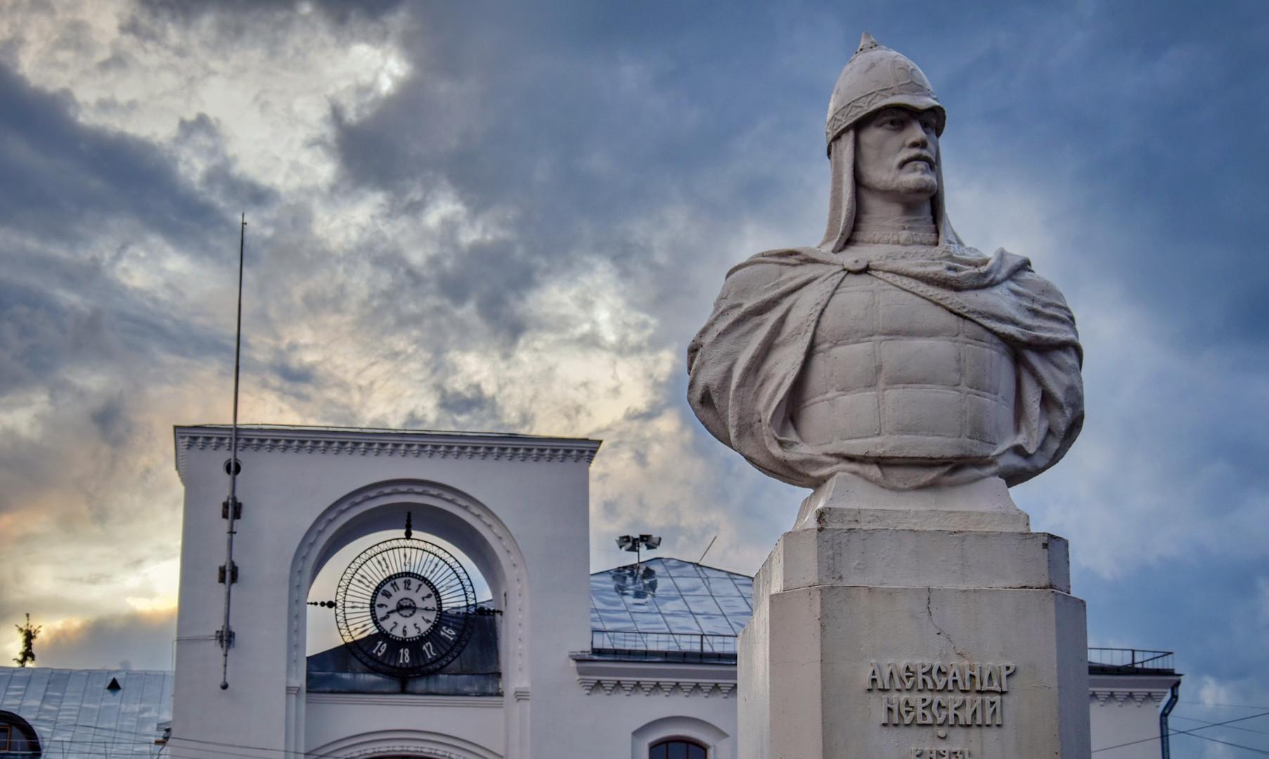 Памятник Александру Невскому, Великий Новгород