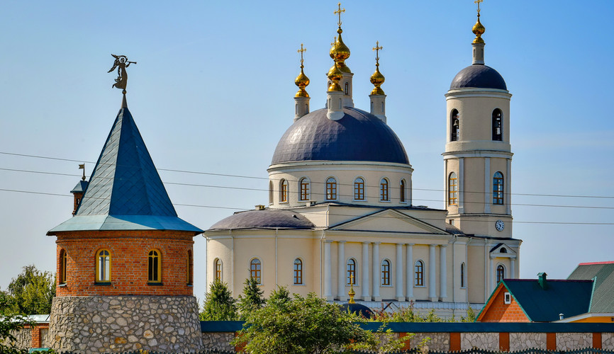 Покровский монастырь, Михайлов