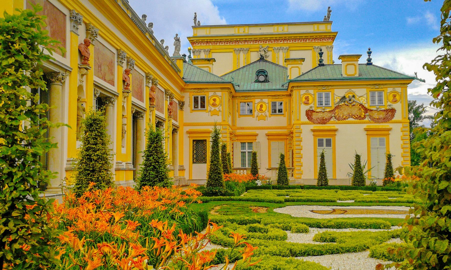 Виляновский дворец, Варшава