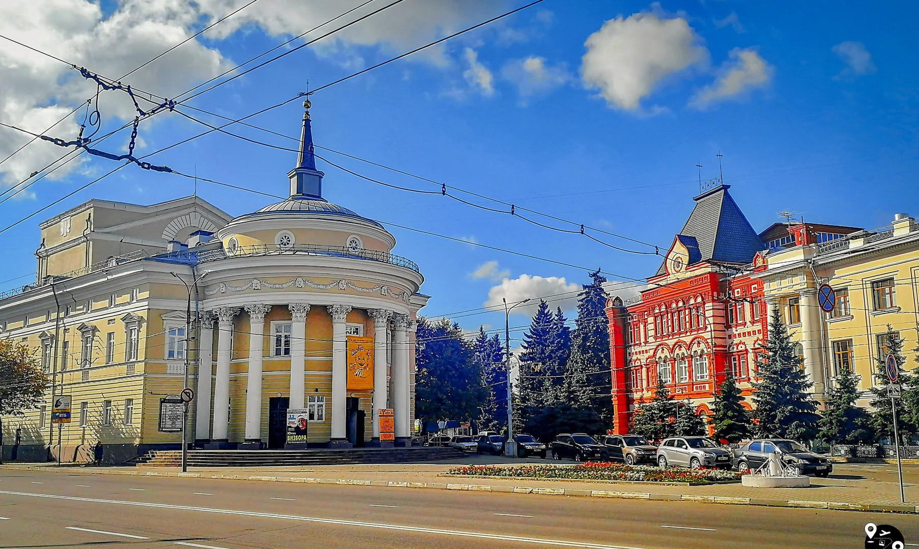 Здание городской администрации, Орёл