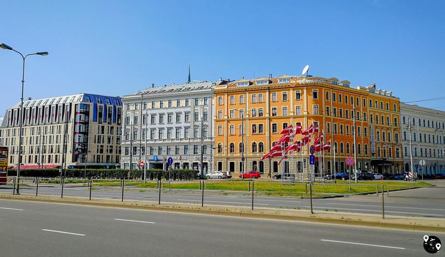 Центр города Рига