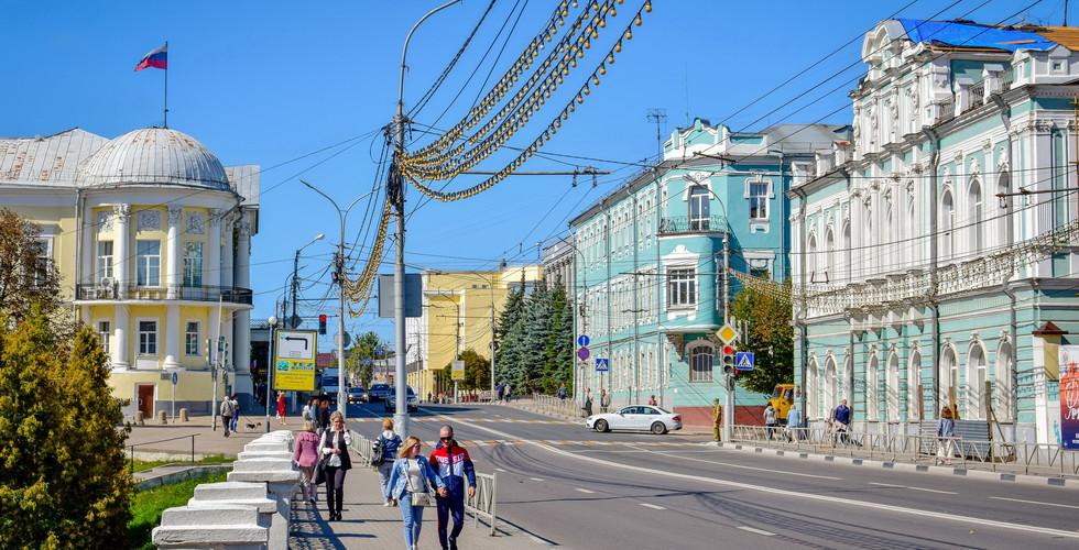 Почтовая площадь, Рязань