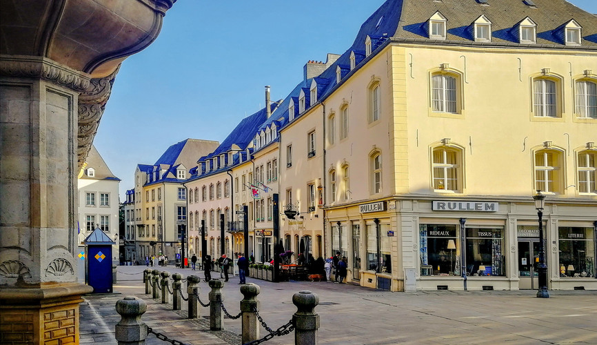 Центр города, Люксембург