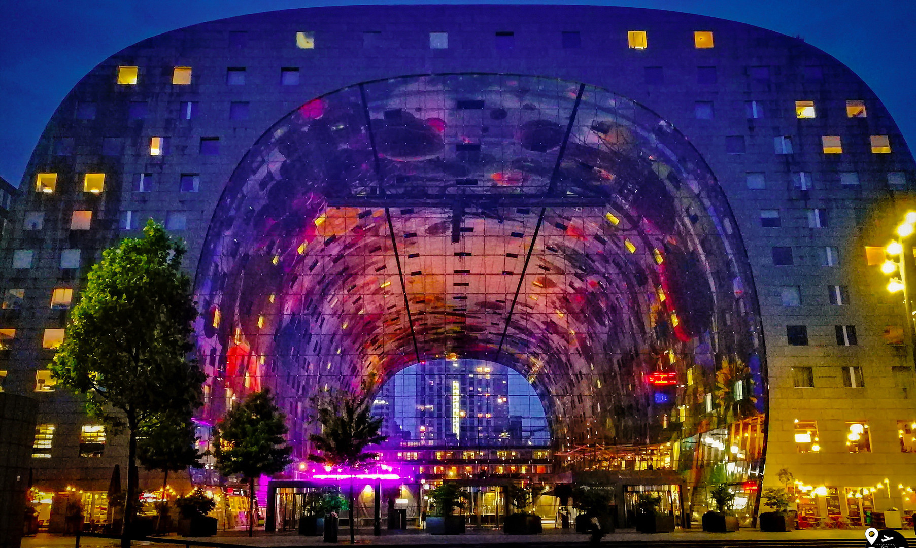 Центральный рынок Роттердама