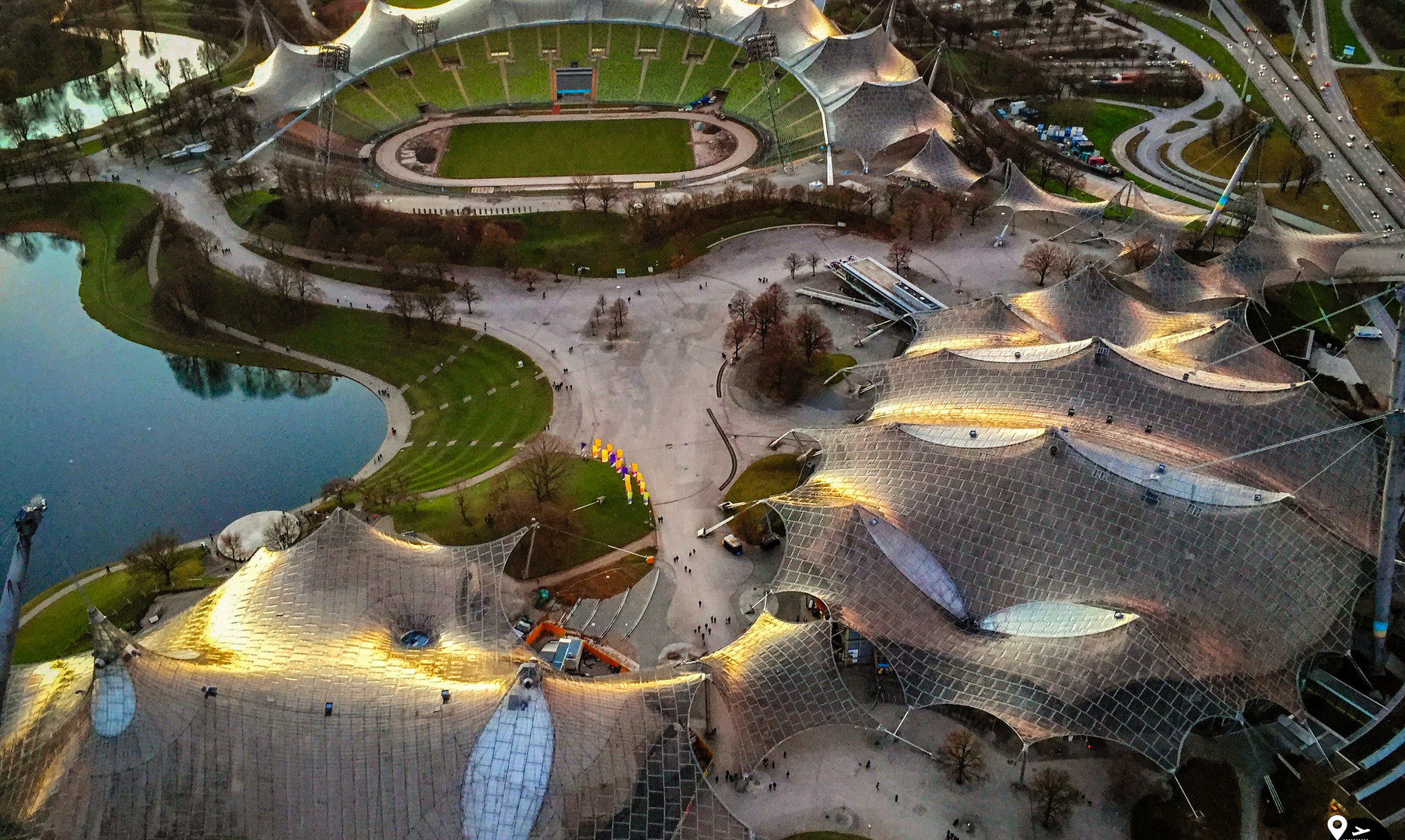 Олимпийский парк, Мюнхен