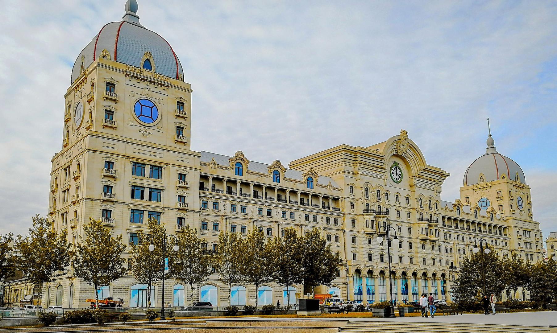 Жилые комплексы в Баку