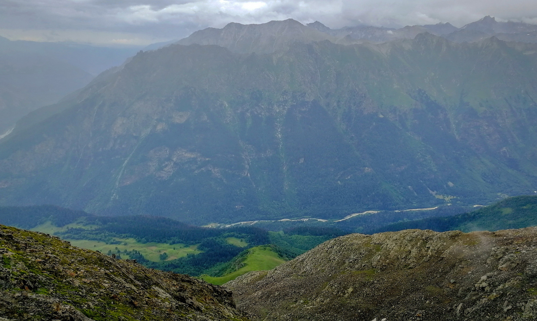 Горные пейзажи КБР