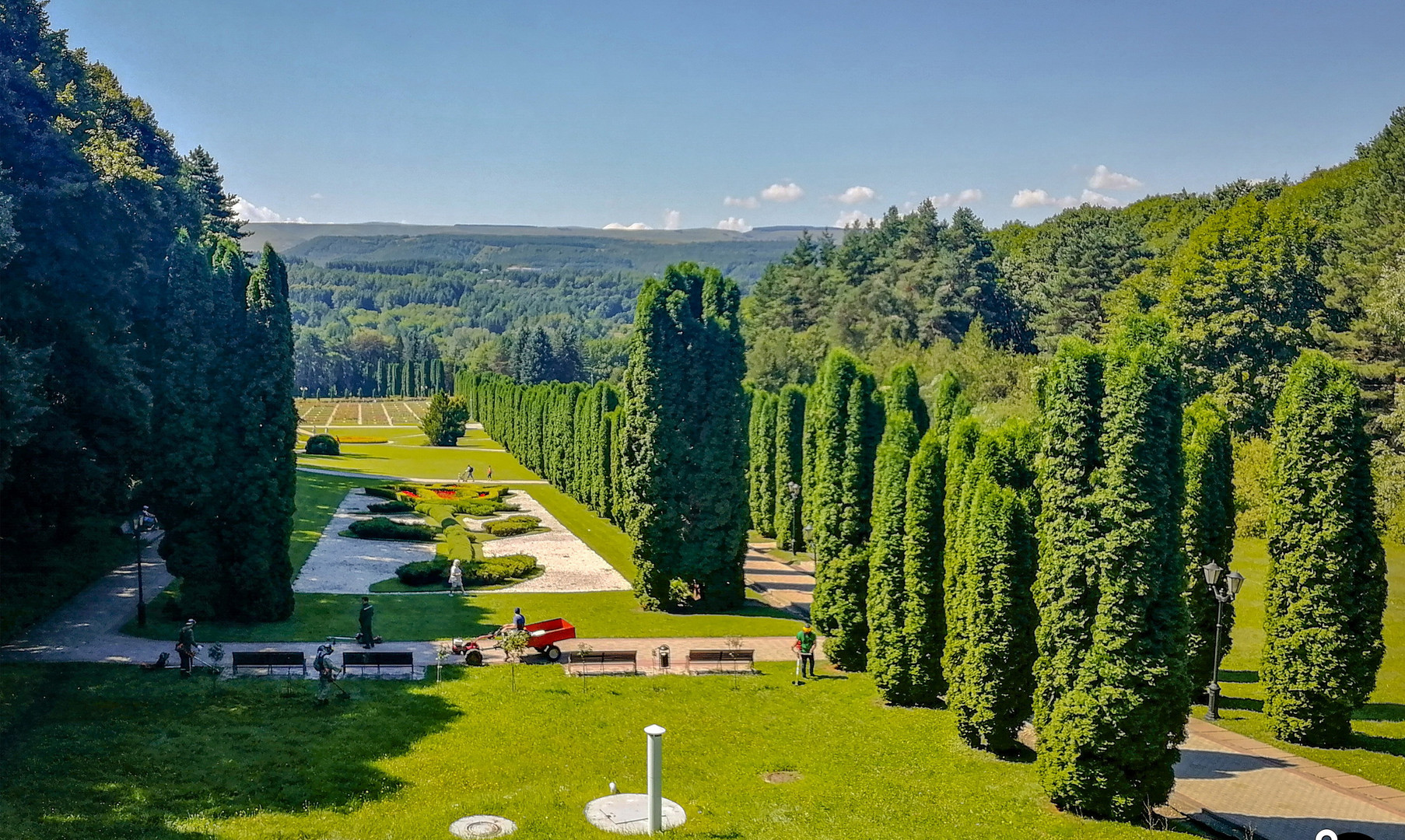 Долина роз в Курортном парке, Кисловодск