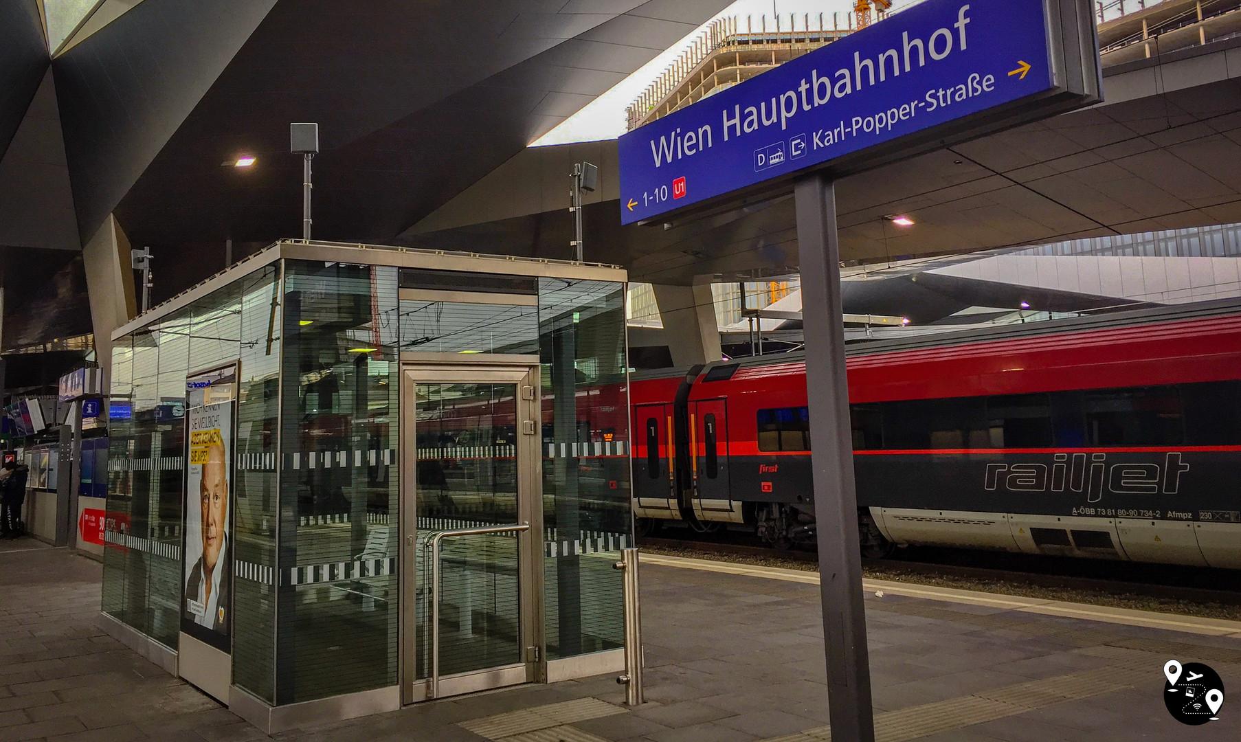 Ж/д вокзал Вены