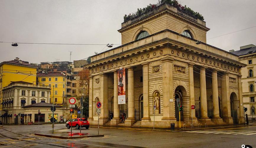 Центр города Милан
