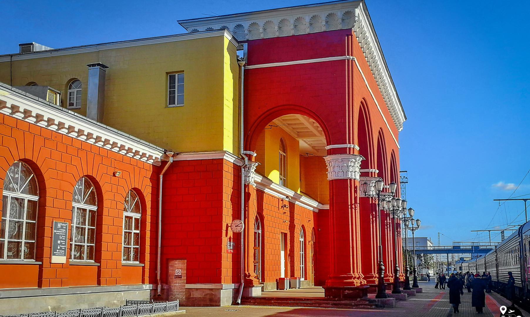 Ж/д вокзал Орёл