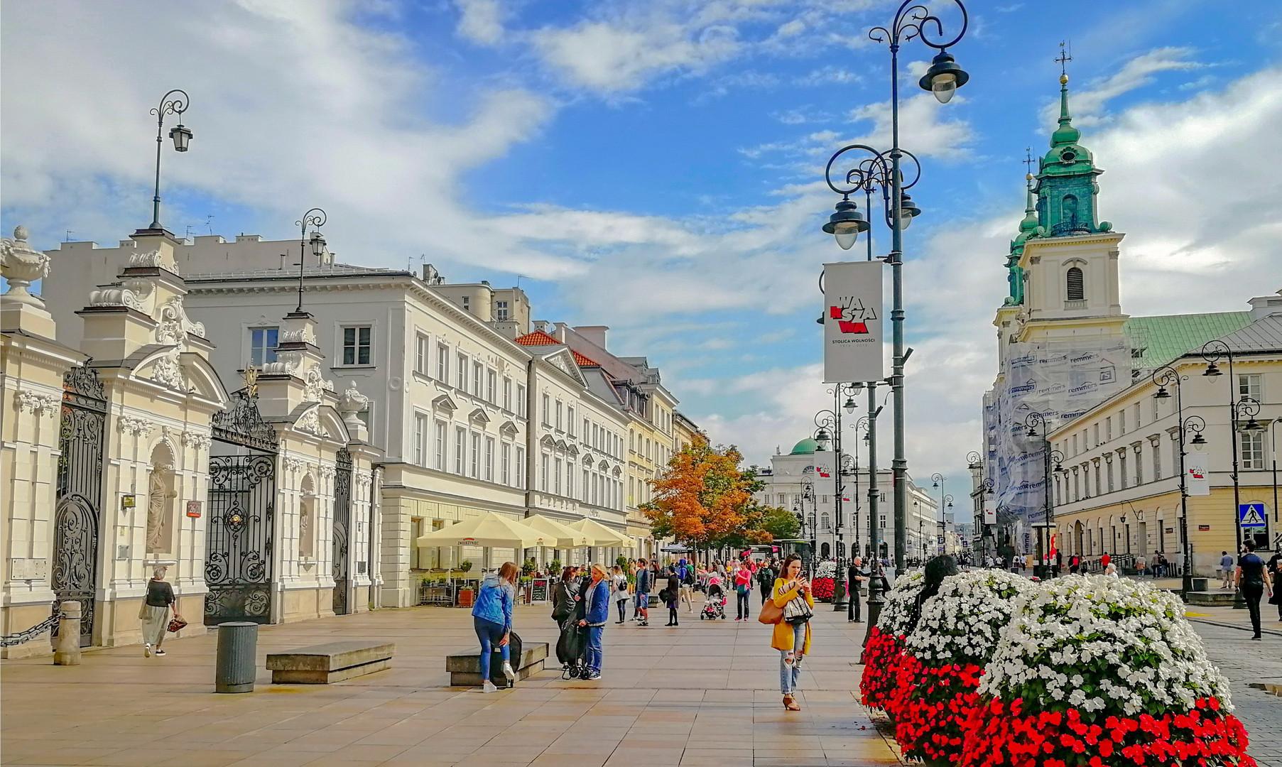 Королевский тракт, Варшава