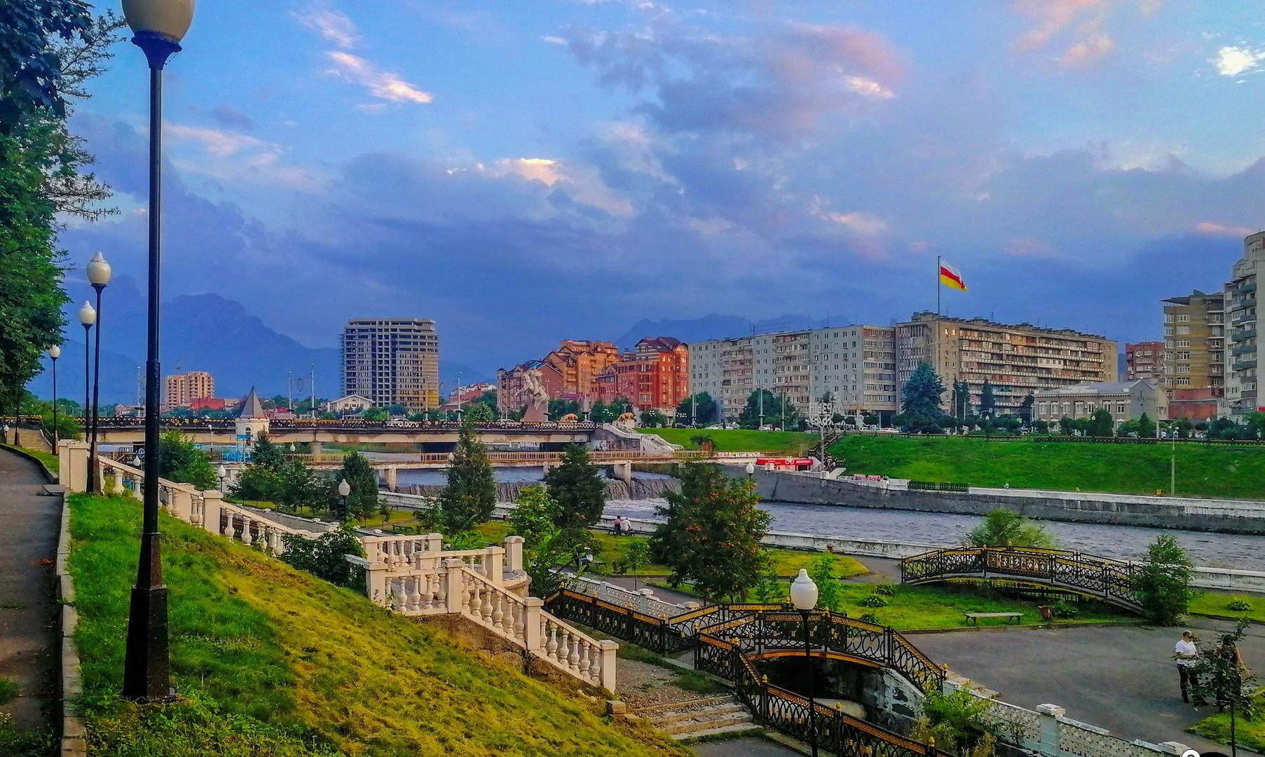 Набережная реки Терек, Владикавказ
