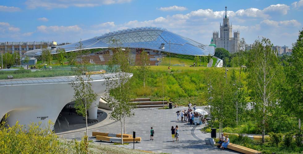 Парк Зарядье, Москва