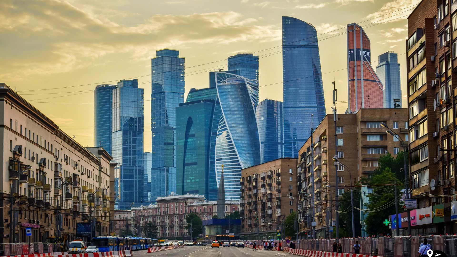 "Деловой центр ""Москва Сити"", Москва"