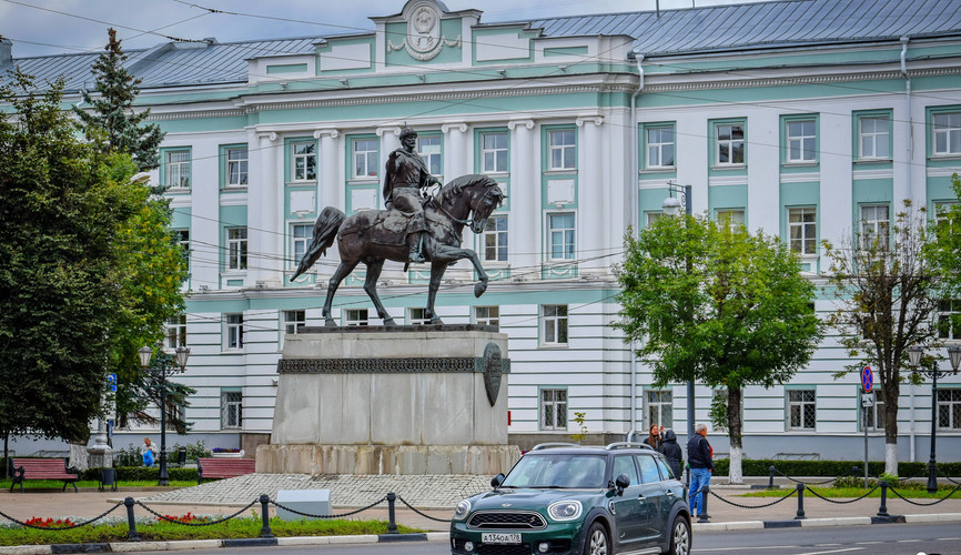 Площадь Михаила Тверского, Тверь
