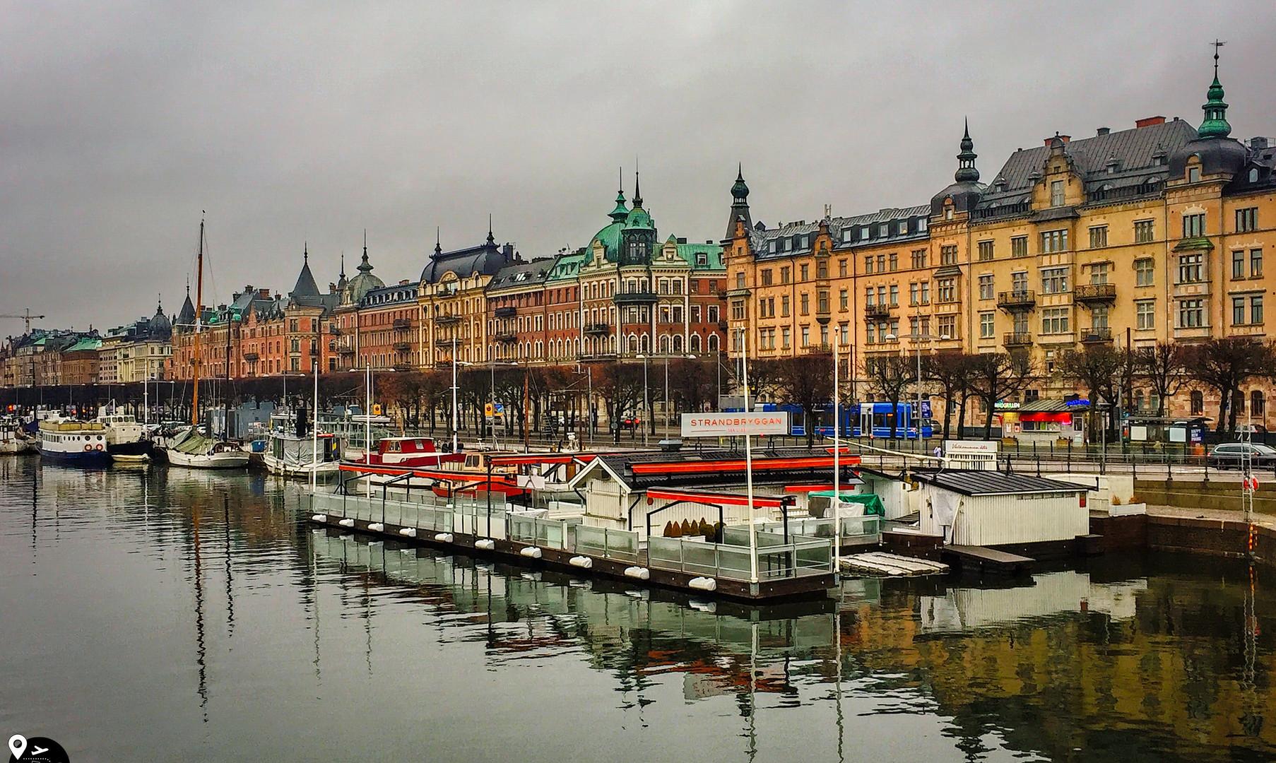 Бульвар Страндвеген, Стокгольм