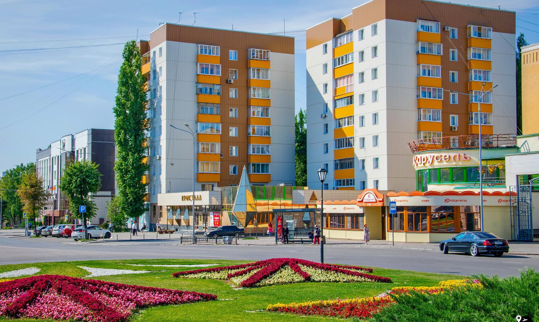 Площадь Героев, Липецк
