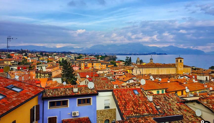Панорама Дезенцано-дель-Гарда