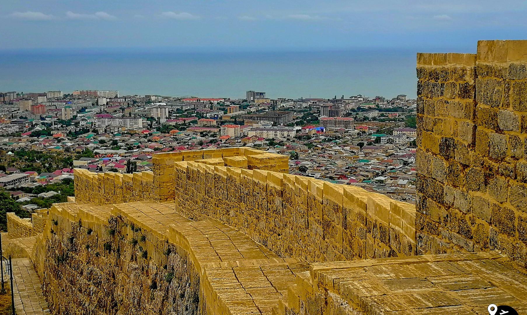 Панорама старого Дербента