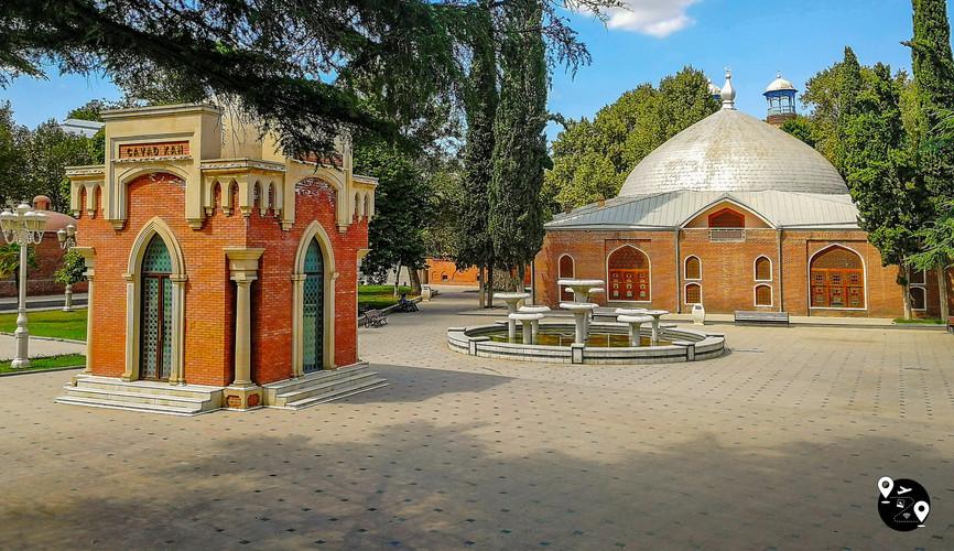 Каравансарай шаха Аббаса, Гянджа
