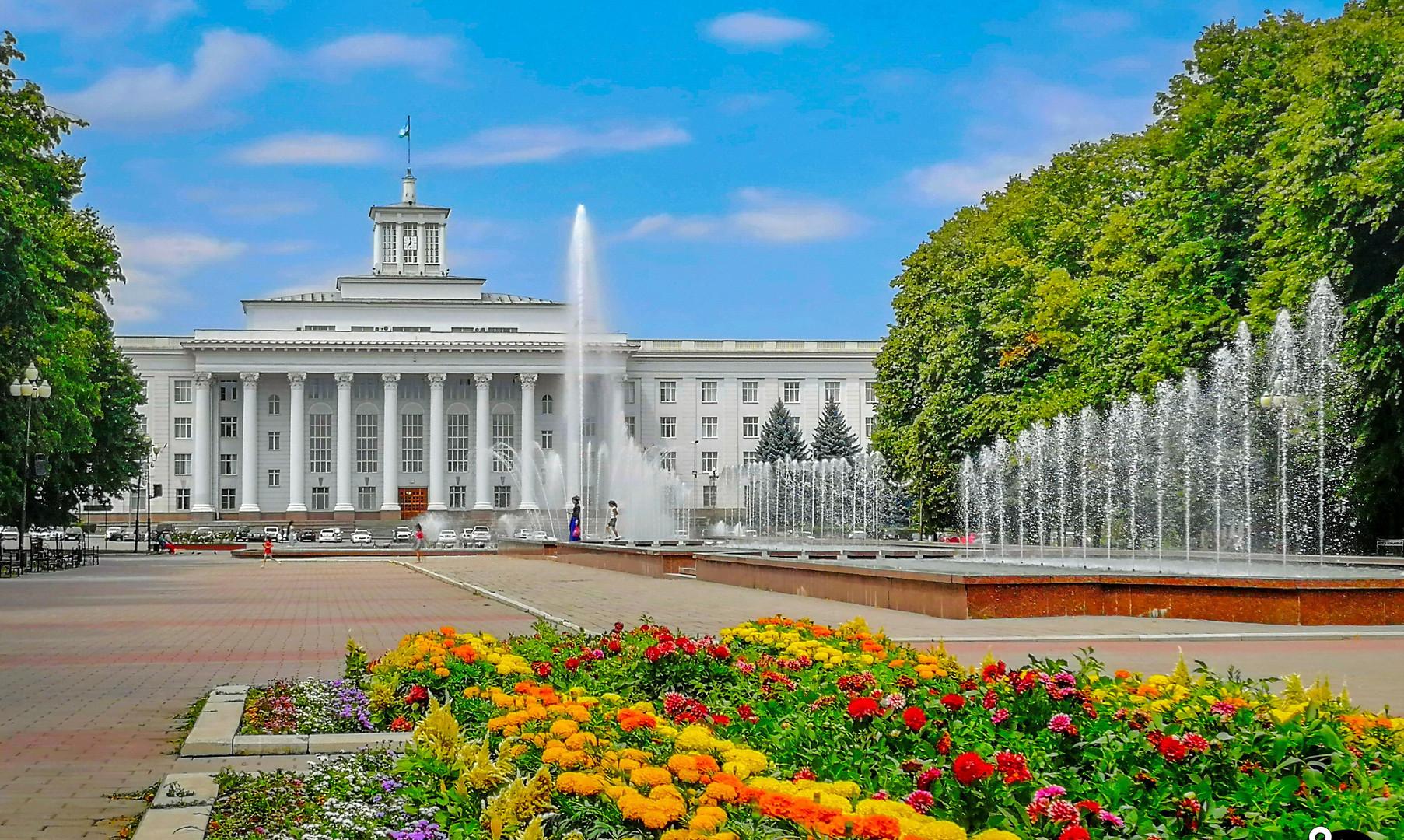 Центральная площадь, Нальчик