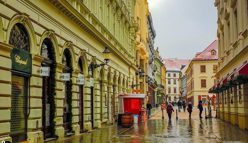 Старый город Братиславы