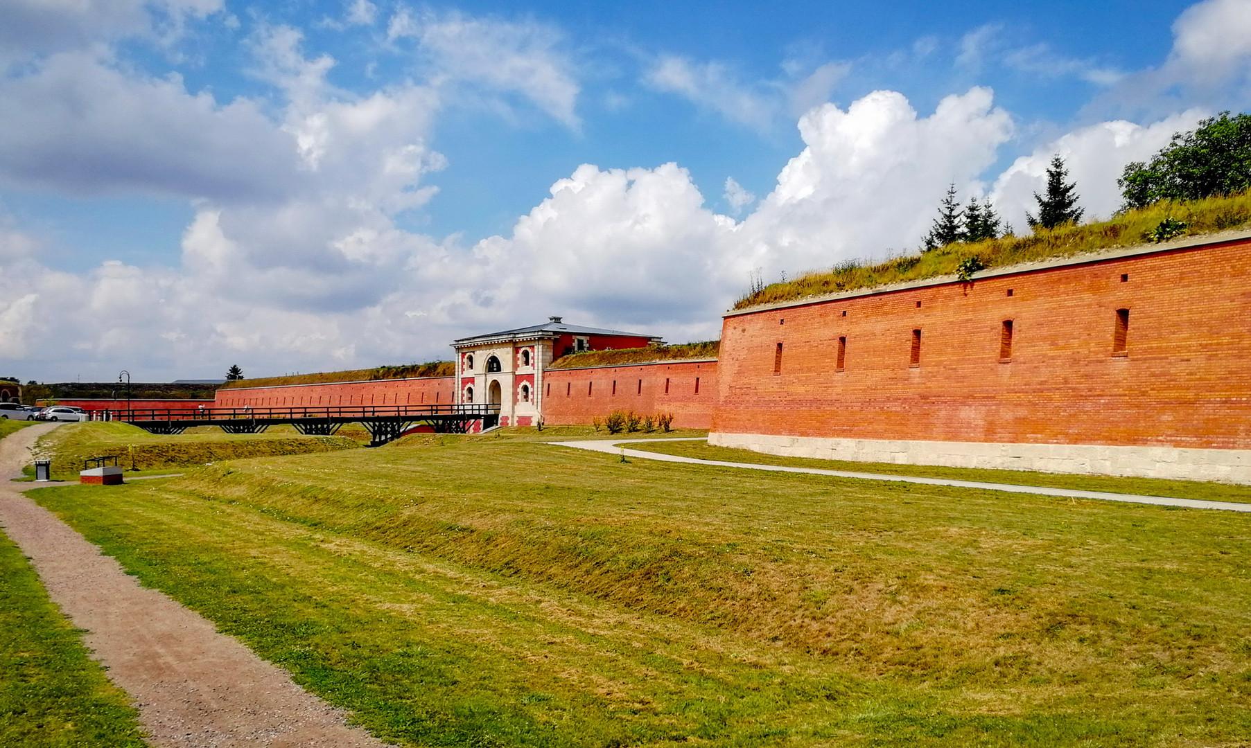 Стены крепости Замосць