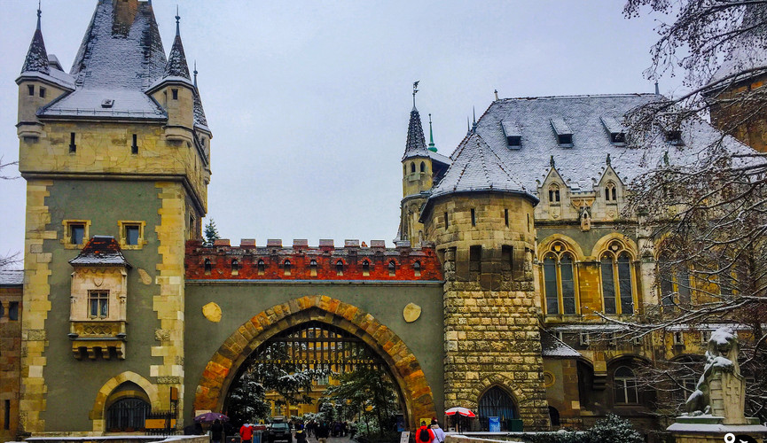 Замок Вайдахуняд, Будапешт