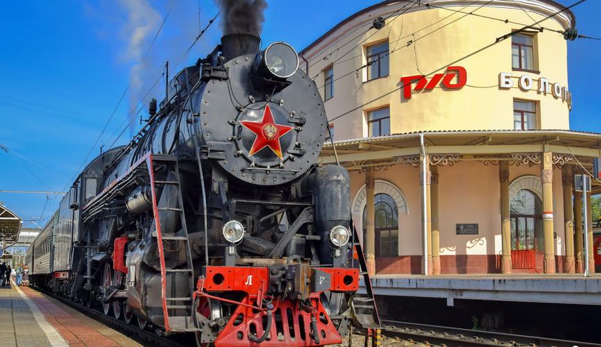 """Поезд """"Бологое-Осташков"""", Бологое"""