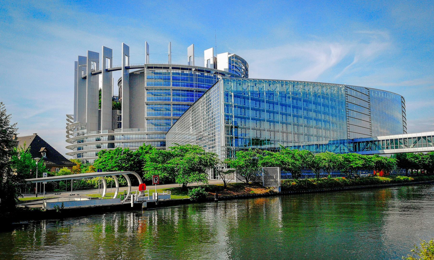 Здание Европарламента, Страсбург