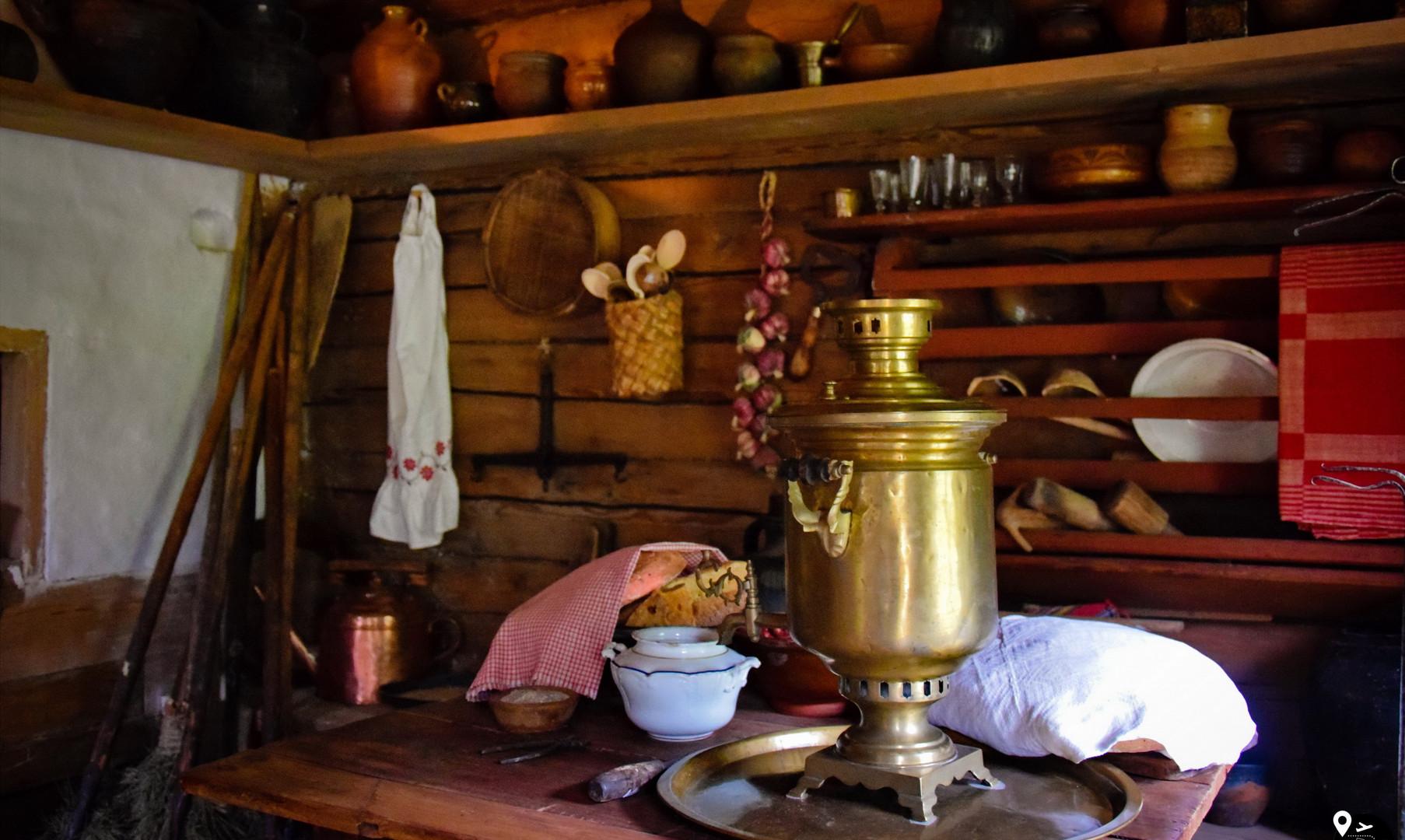 Быт русских крестьян в музее Витославлицы