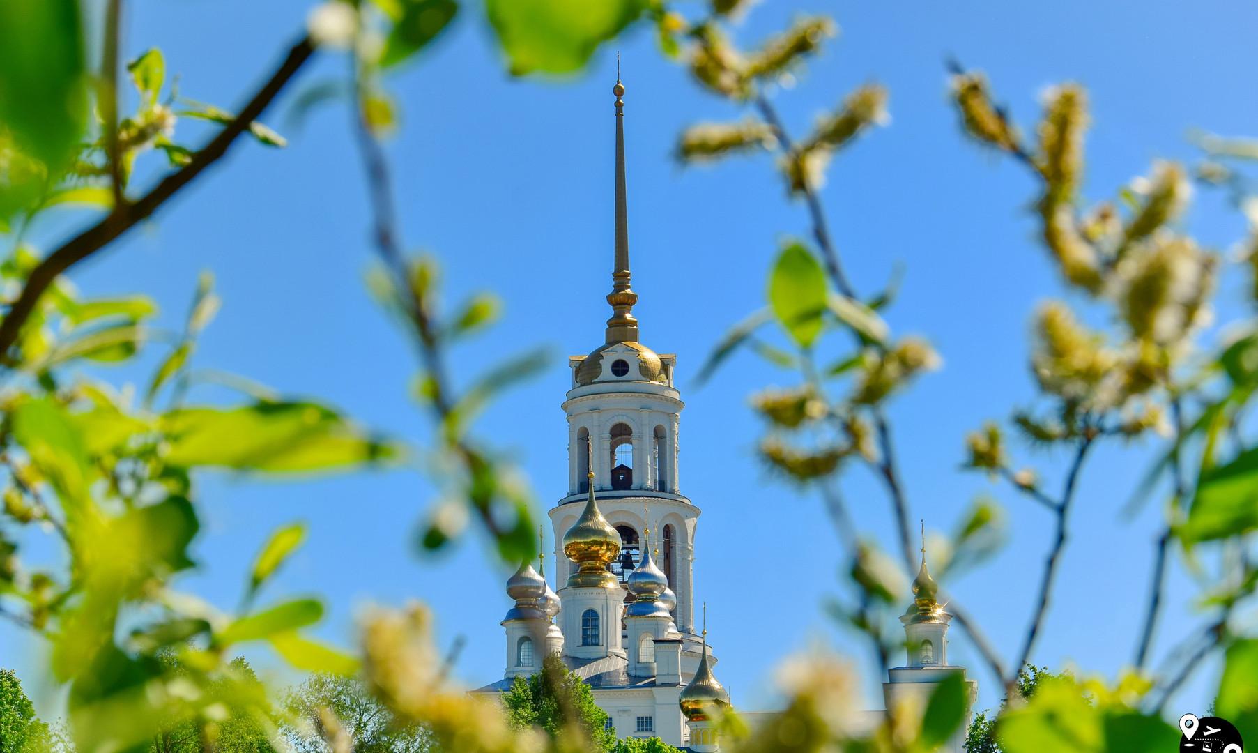 Колокольня Воскресенского собора, Шуя