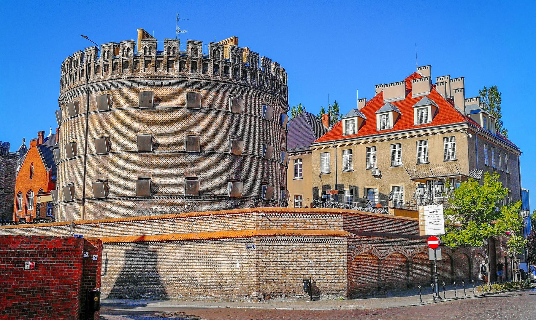 Башни крепости Торунь