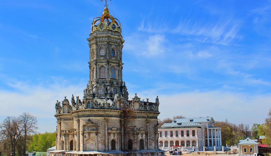 Знаменская церковь, Дубровицы