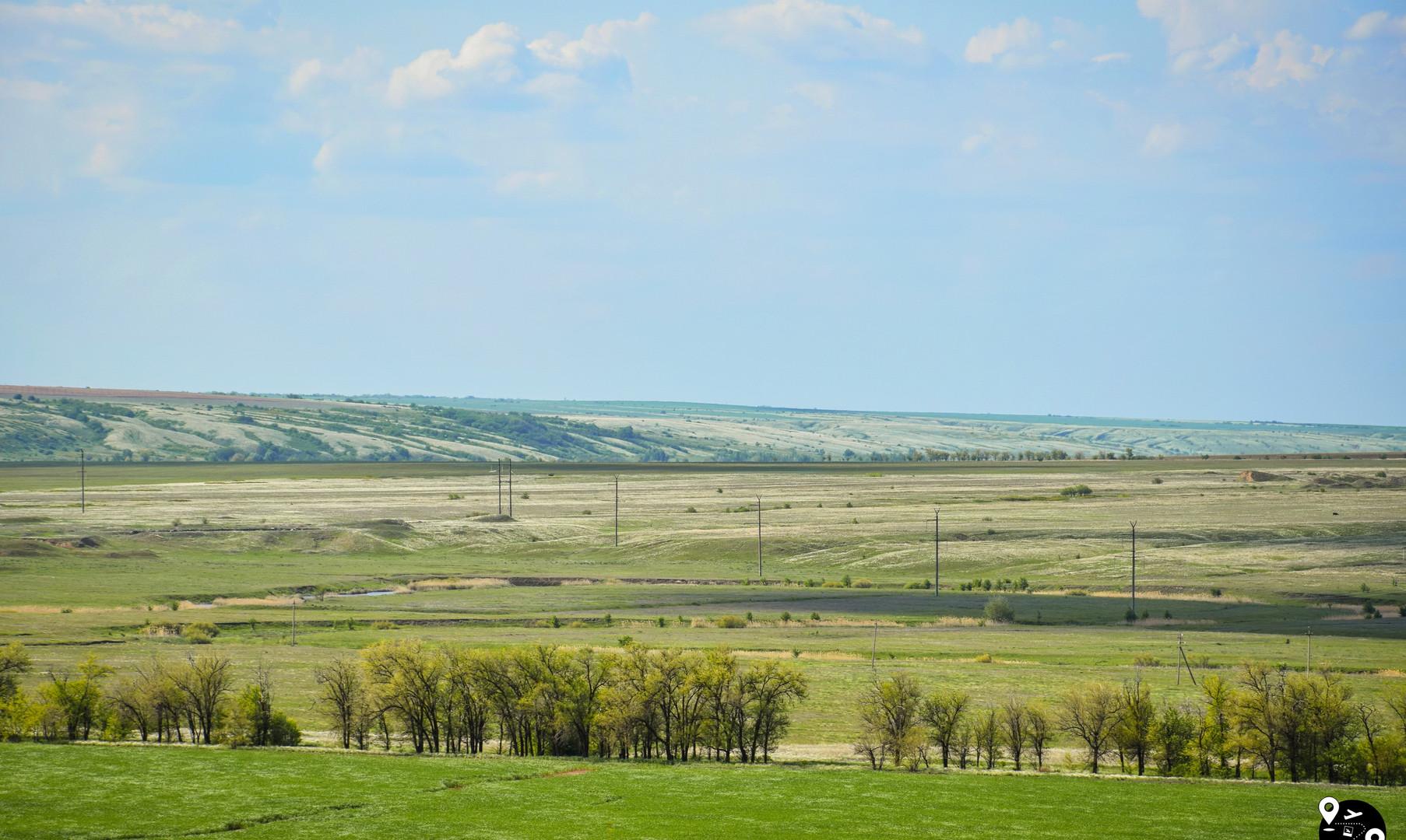 Пейзажи Волгоградской области