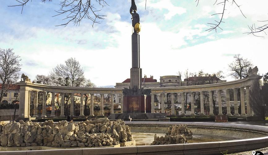 Монумент советским воинам-освободителям, Вена