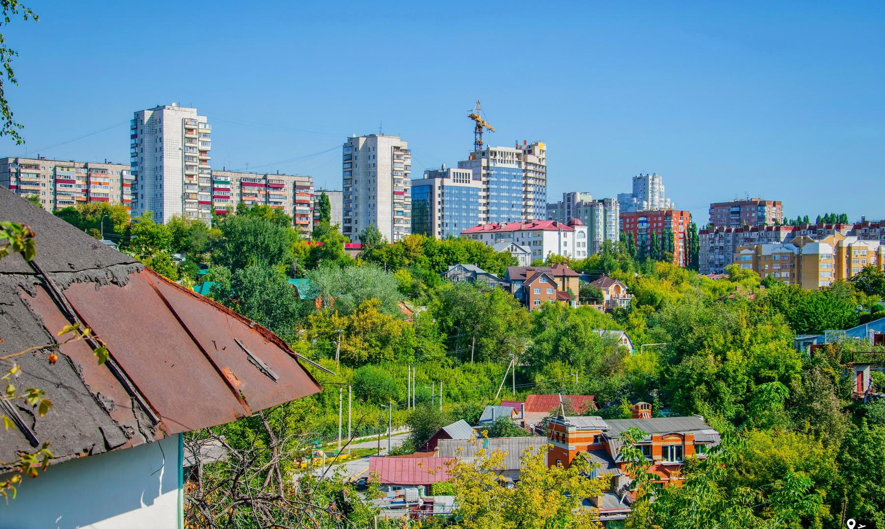 Панорама Липецка