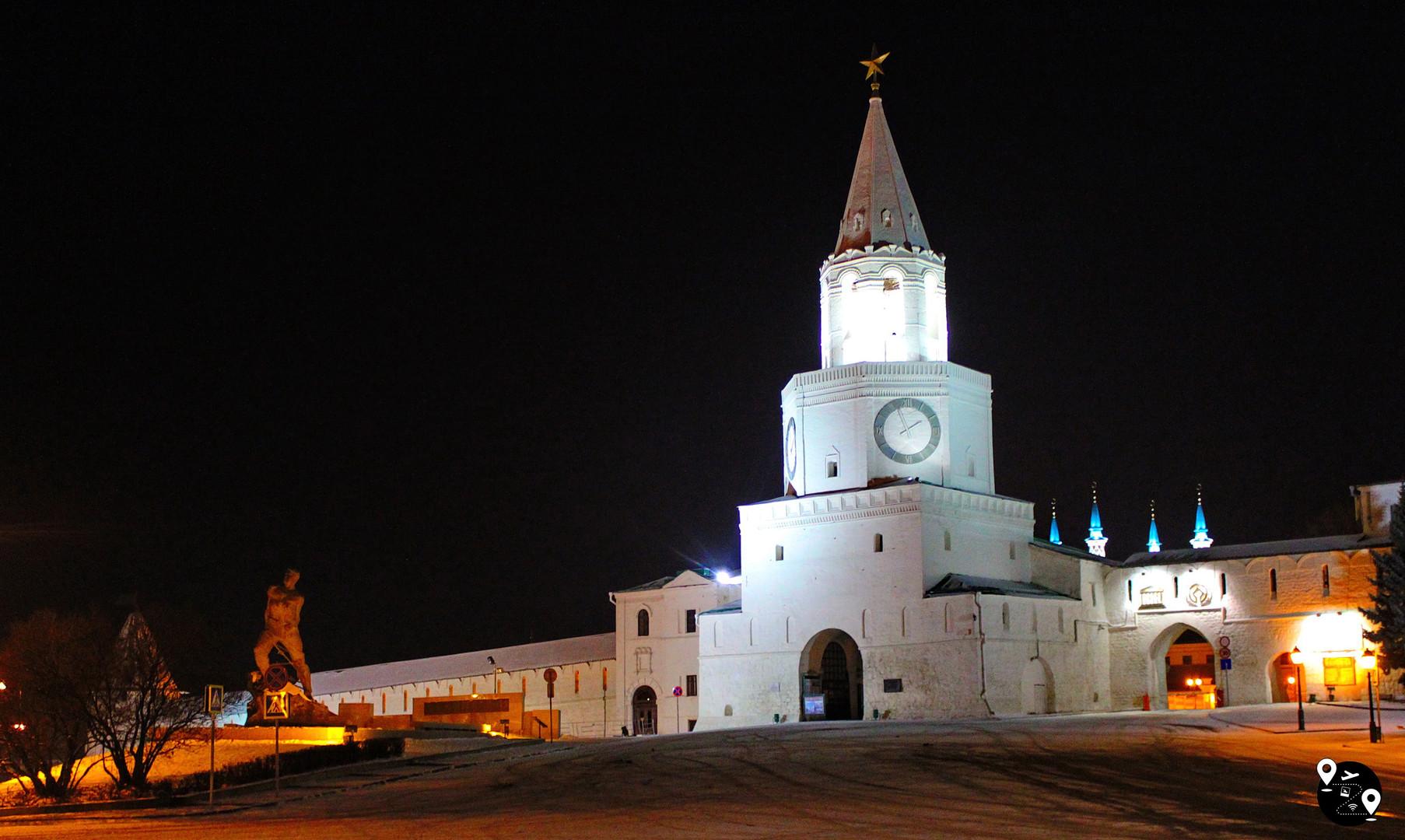 Спасская башня, Казань