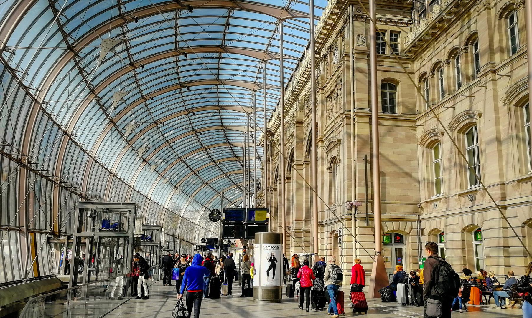 Ж/д вокзал Страсбурга
