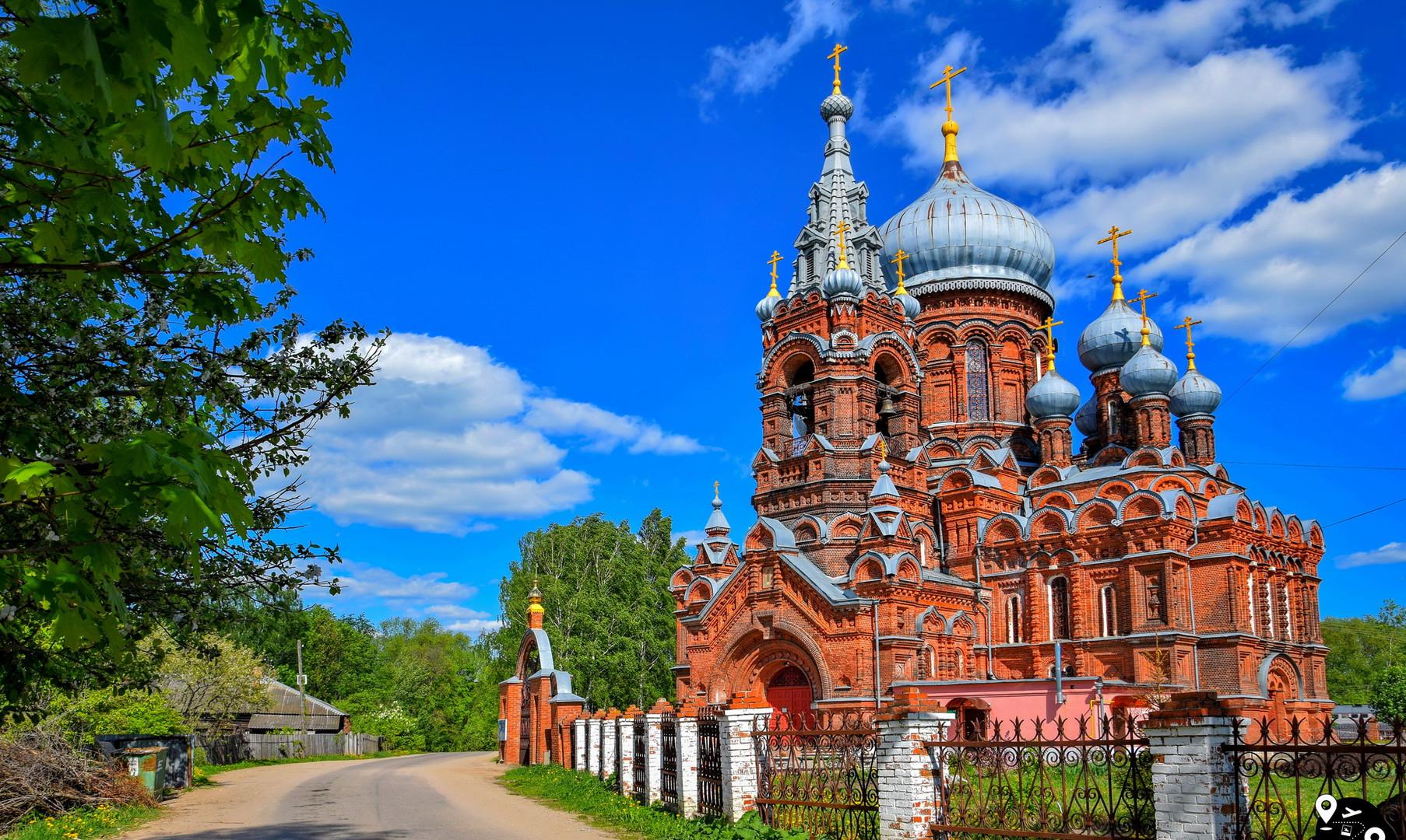 Скорбящеский храм, Фурманов