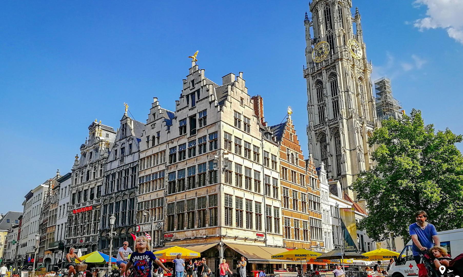 Центральная площадь, Антверпен