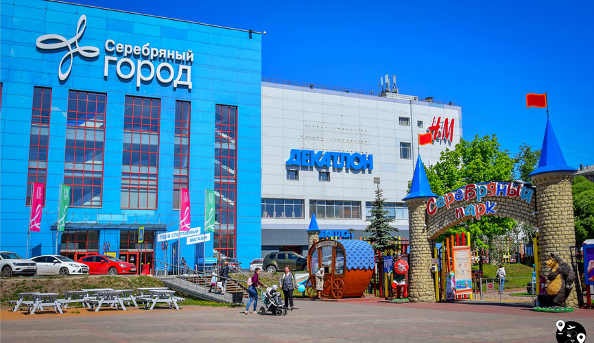 """ТЦ """"Серебряный город"""", Иваново"""