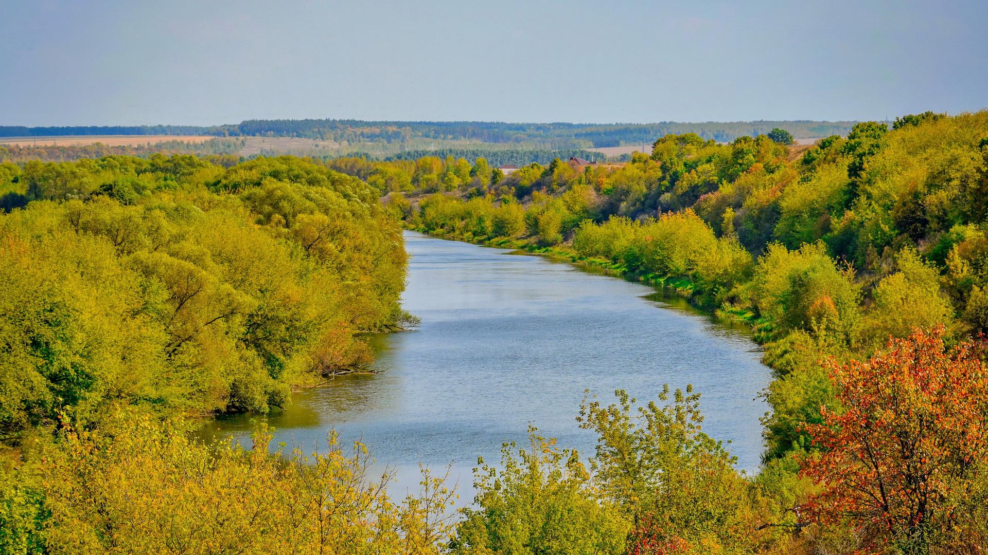 Река Дон в Волотово